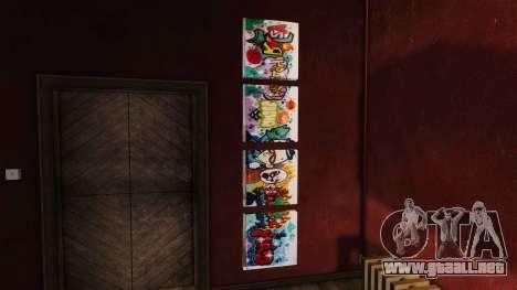Nuevos carteles en el apartamento de Playboy para GTA 4 tercera pantalla