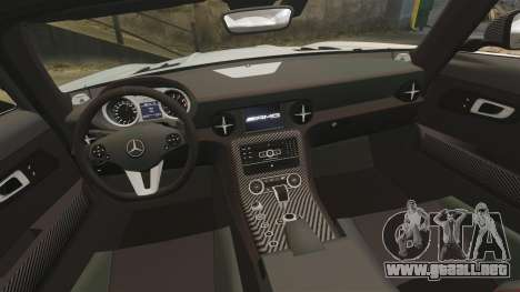 Mercedes-Benz SLS 2014 AMG Black Series para GTA 4 vista lateral