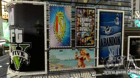 Carteleras de GTA 5 para GTA 4 segundos de pantalla