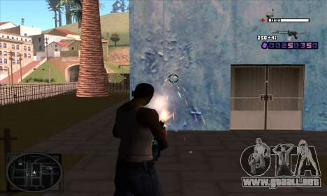 C-HUD Belenky para GTA San Andreas segunda pantalla
