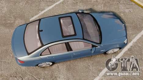 Mercedes-Benz C63 AMG 2013 para GTA 4 visión correcta