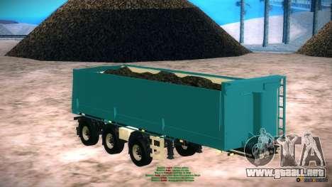 Trailer de Artict2 para GTA San Andreas vista posterior izquierda