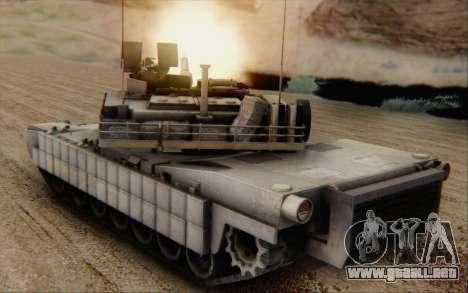 M1A2 Abrams para GTA San Andreas left