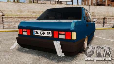 Tofas Sahin v2.0 para GTA 4 Vista posterior izquierda