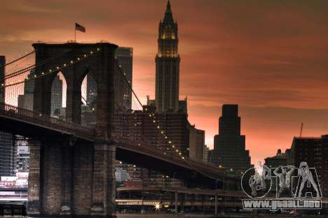 Pantallas de carga, Nueva York para GTA 4 adelante de pantalla