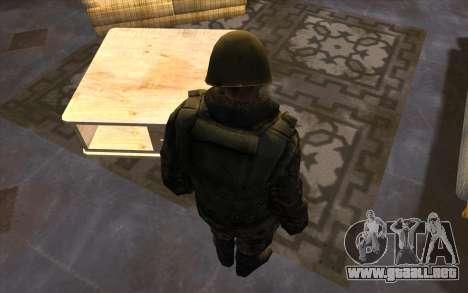 Los soldados de la SA y la de la guardia Naciona para GTA San Andreas quinta pantalla