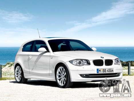 Inicio pantallas BMW 116i para GTA 4 séptima pantalla