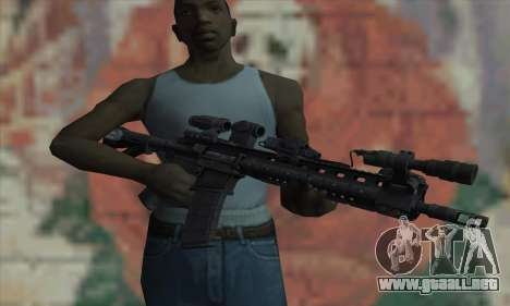 Warfighter-Larue OBR de Medal of Honor para GTA San Andreas tercera pantalla