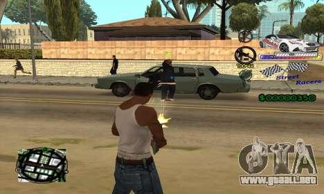 HUD Races para GTA San Andreas tercera pantalla