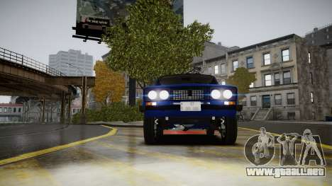 VAZ 2106 Baku para GTA 4 vista hacia atrás