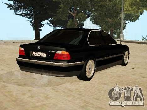 BMW 730 E38 para GTA San Andreas left