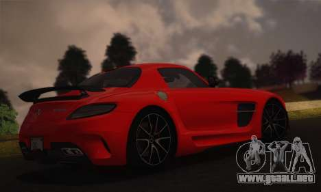 Jango ENBSeries v1.0 para GTA San Andreas tercera pantalla