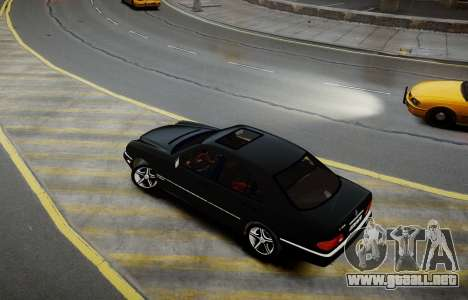 Mercedes-Benz E280 Beta para GTA 4 Vista posterior izquierda
