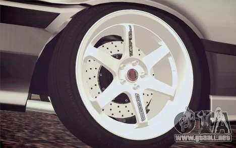 BMW M3 E36 Angle Killer para GTA San Andreas vista posterior izquierda
