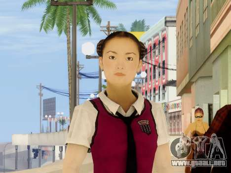 Hanako para GTA San Andreas