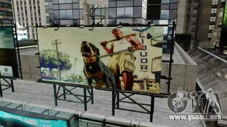 Carteleras de GTA 5 para GTA 4 tercera pantalla