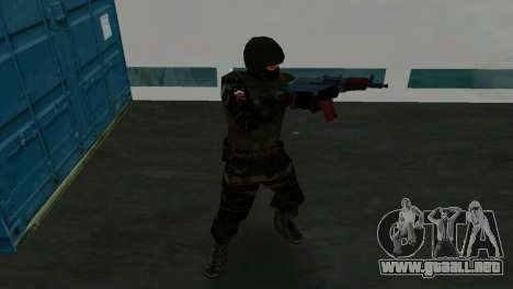 Luchador Alfa Antiterror para GTA Vice City quinta pantalla