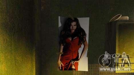 Nuevos carteles en el apartamento de la Novela para GTA 4 adelante de pantalla