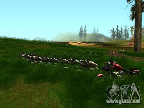 Biker Party 1.0 para GTA San Andreas tercera pantalla