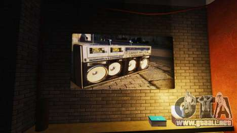 Nuevos carteles en el apartamento de Playboy para GTA 4 adelante de pantalla