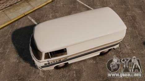 Volkswagen Transpoter 2 1975 para GTA 4 visión correcta
