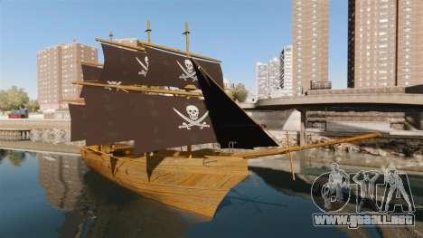 Barco pirata para GTA 4