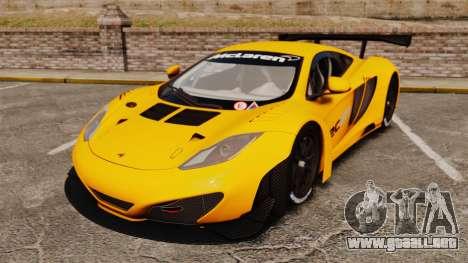 McLaren MP4-12C GT3 para GTA 4