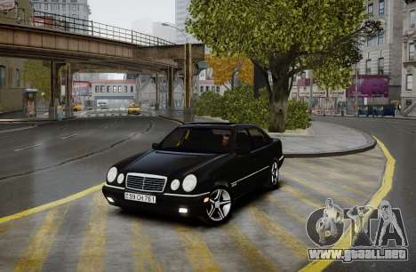 Mercedes-Benz E280 Beta para GTA 4