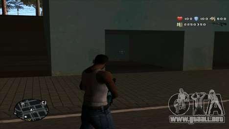C-Hud by Stan Gomez para GTA San Andreas segunda pantalla