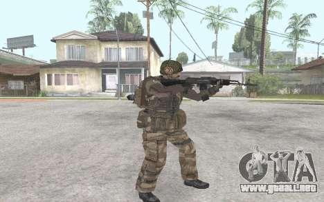 AK-101 para GTA San Andreas segunda pantalla