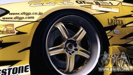 Nissan Silvia S15 TopSecret para la visión correcta GTA San Andreas
