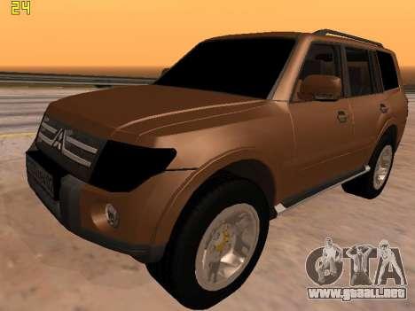 Mitsubishi Pajero 2010 para GTA San Andreas