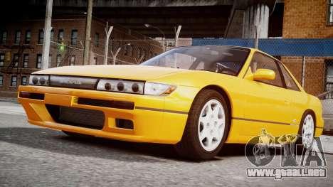 Nissan 240sx Dolor de 1992 para GTA 4 left