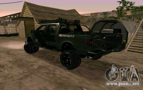 Ford F150 Raptor Unique Edition para GTA San Andreas left