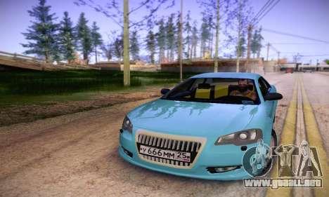 Volga Siber 2.5 AT Restyling para GTA San Andreas vista hacia atrás