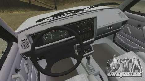 Volkswagen Rabbit GTI 1984 para GTA 4 vista hacia atrás