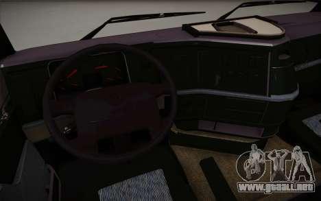 Volvo FH12 para GTA San Andreas vista hacia atrás