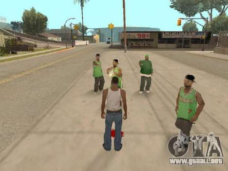 Ir a la cuadrilla de Ballas para GTA San Andreas tercera pantalla
