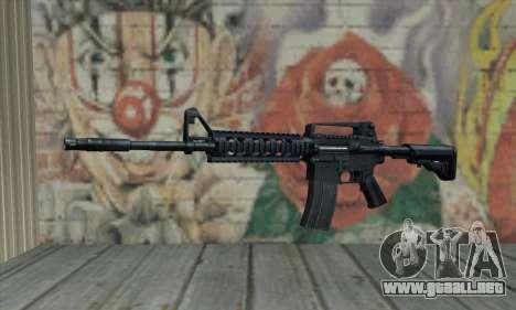 M4 RIS Carbine para GTA San Andreas