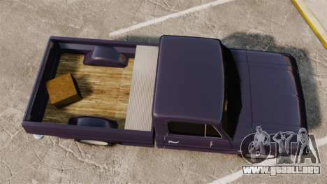 Chevrolet C10 1974 para GTA 4 Vista posterior izquierda