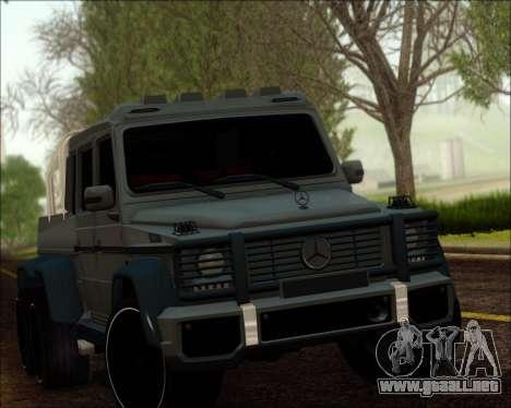 Mercedes-Benz G63 AMG 6x6 para GTA San Andreas