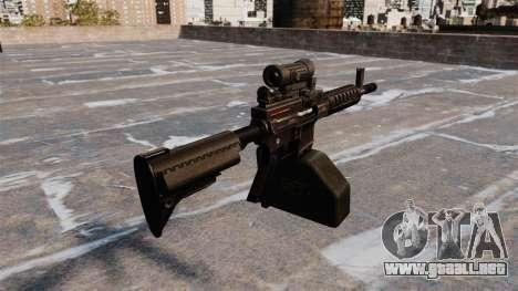 Ametralladora ligera de Ares Shrike 5,56 para GTA 4 segundos de pantalla