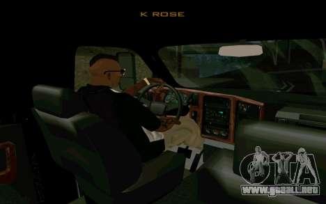 GMC Topkick para GTA San Andreas vista posterior izquierda