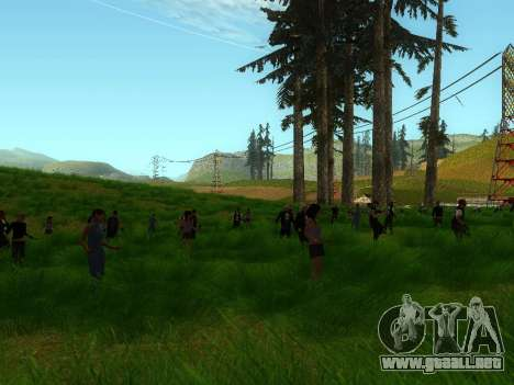 Biker Party 1.0 para GTA San Andreas segunda pantalla