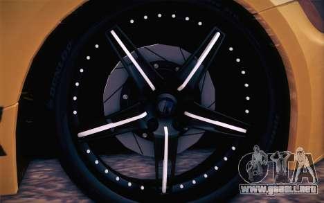 BMW Z4 V10 Stanced para la visión correcta GTA San Andreas