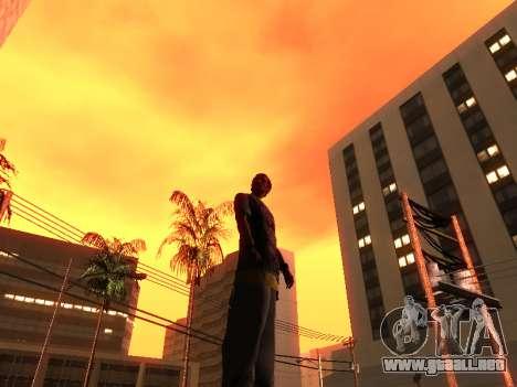 La Piel De Trazadores para GTA San Andreas sucesivamente de pantalla