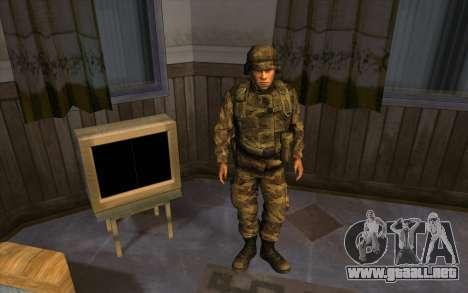 Los soldados de la SA y la de la guardia Naciona para GTA San Andreas