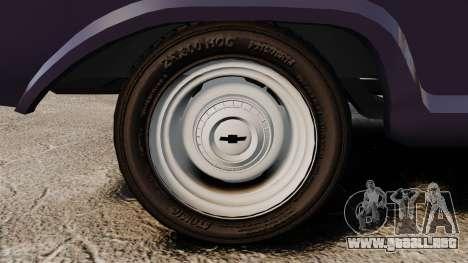 Chevrolet C10 1974 para GTA 4 visión correcta