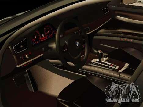 BMW 730Li para GTA San Andreas vista posterior izquierda