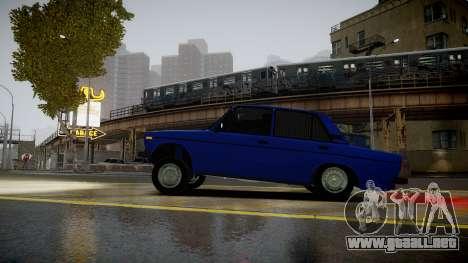 VAZ 2106 Baku para GTA 4 left